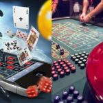 Roulette at an online vs land-based casino