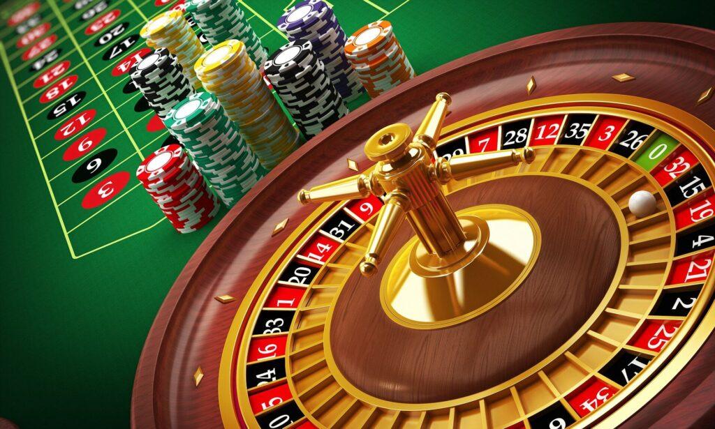 roll in a casino